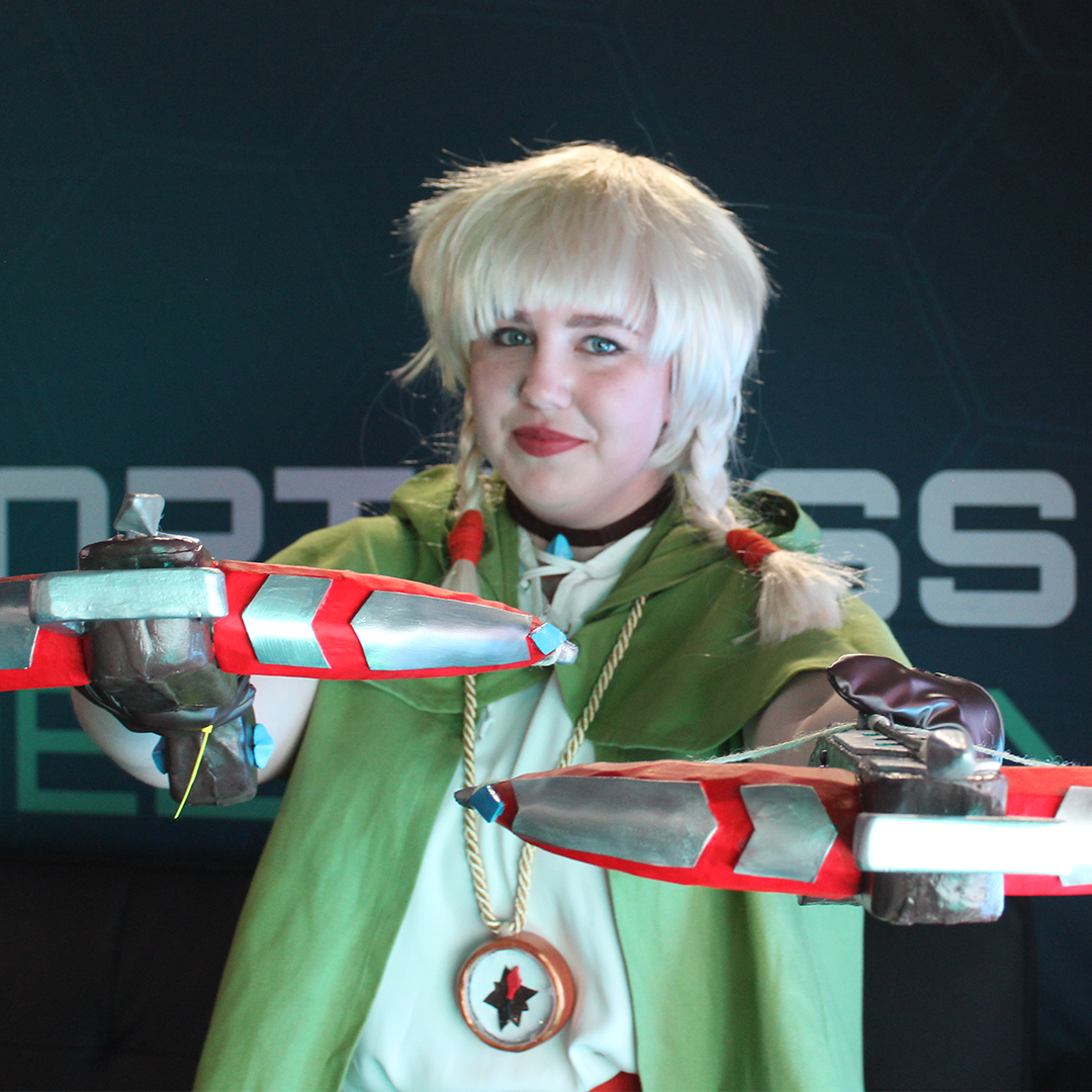 woman cosplaying Linkle at Pax Australia 2019